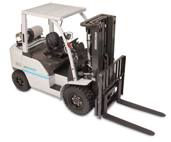 heavy duty pneumatic forklift