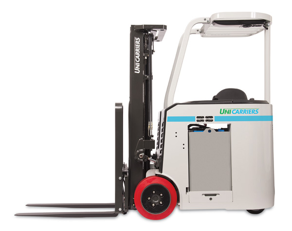 unicarriers platinum scx stand up forklift