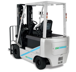 platinum bx 4 wheel electric forklift