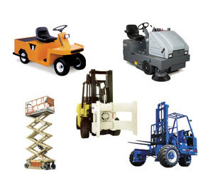 material handling equipment rental Lafayette in